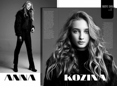 ANNA KOZINA MODEL ABOUT FIRST STEP IN MODELLING