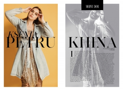BRIGHT, STYLISH AND PROGRESSIVE KSENIA PETRUKHINA FOR MODNY DOM